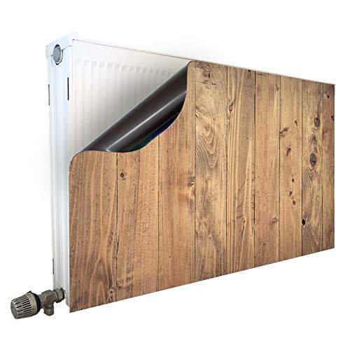 Smagnon magneet radiatorombouw radiatorafdekking verwarming motief houten planken