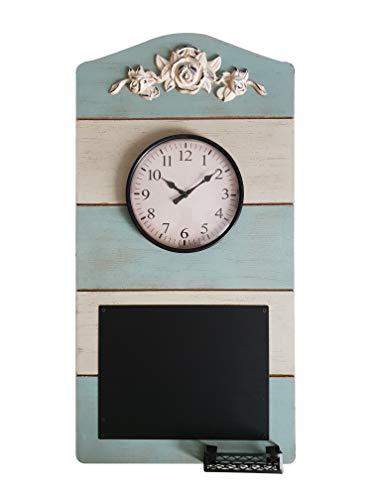 DynaSun Art Blackboard 29,5 x 58 cm Reloj con pizarra de par
