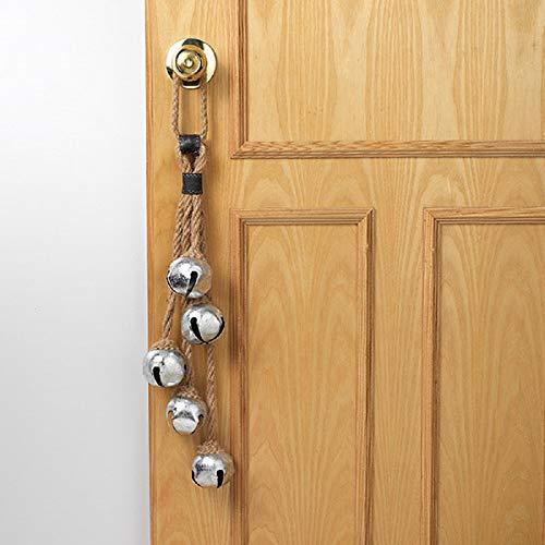Gerson 25' L Holiday Door Knob Hanger with Jingle Bells