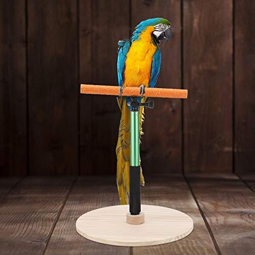 Papegaai Training Stand Uitschuifbare Vogelbank Vogel Staande Platform Vogel Douche Badstandaard Vogel Frosted Staande Stick voor Cockatiels Conures Parakeet Finch Lovebirds