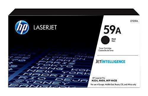 HP 59A -Cartucho de tóner para impresoras láser, color negro