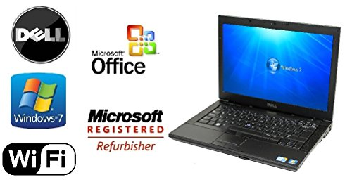 "Dell Latitude E6410 Laptop Windows 7 Pro Core i5 2.4 Ghz 8GB RAM - ""NEW"" 1TB HD DVD-RW +MS Office"