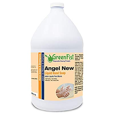 GreenFist [ Liquid ] Hand Soap Wash Refill Biodegradable 128 ounce, (1 Gallon)