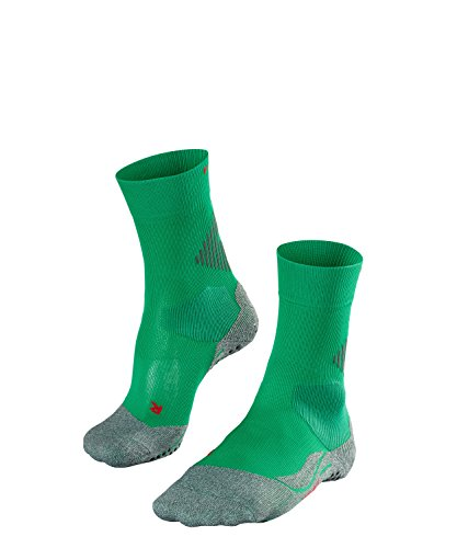 Falke Unisex Socken 4 GRIP Stabilizing U SO, 1 Paar, Grün (Emerald 7230), 35-36