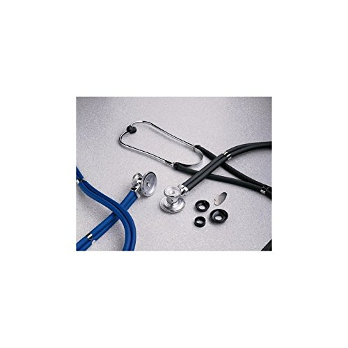 Sprague - Rappaport Stethoscope entrust? Black 2-Tube 16 Inch Tube Double Sided Chestpiece EA/1