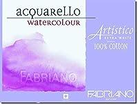"Fabriano Artistico 140 lb. Cold Press 10-Pack 11x14"" - Extra White [並行輸入品]"