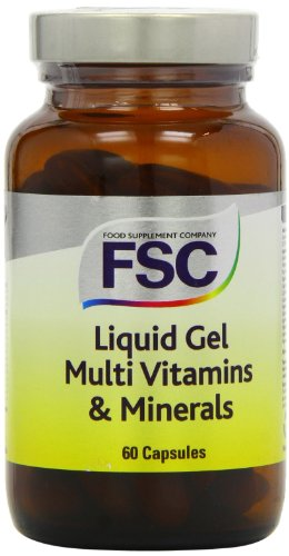 FSC Liquid Gel Multi Vitamins and Minerals - Pack of 60 Capsules