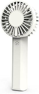 JUYUE Mini Fan Battery Operated Handheld Fan with 1200 mAh Battery Personal Mini Fan,4 Speeds,Double Motors And Double Hel...