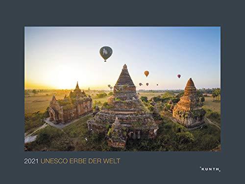 UNESCO Erbe der Welt 2021: Wandkalender (KUNTH Wandkalender Black Edition)