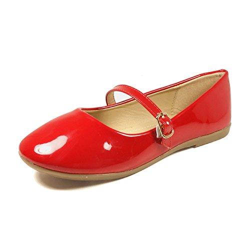 Merceditas Niña Rojas  marca Nova Footwear