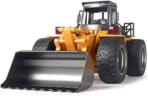 WANGCH 1 / 18Remote Control de aleación Cargador de aleación Camión Excavadora Canal Bulldozer Crane Truck Alloy Plastic RC Truck Beach RC Ingeniería Coche Control Remoto Tractor Modelo Modelo Juguete
