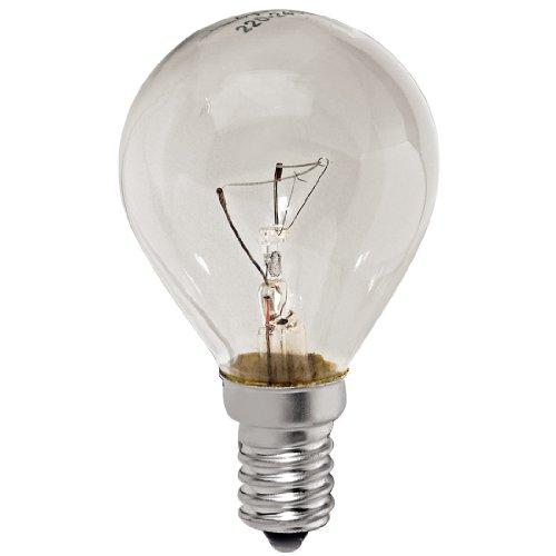 Xavax, Ampoul pour four, en forme d'une goutte, 40 Watt, socle E14