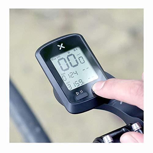 YBZS Cuentakilómetros Inalámbrico para Bicicleta,XOSS G + GPS Ordenador De Bicicleta IPX7...