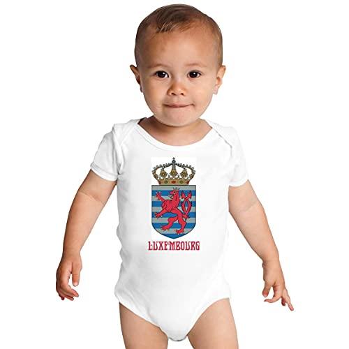 ABADI Luxemburgo - Emblema/Abrigo-de-brazos/Bandera/Símbolo Bebé Mono