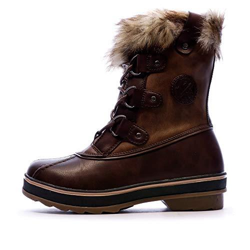 Kimberfeel Stiefel für Damen, braun, Camille, Braun - braun - Größe: 41 EU