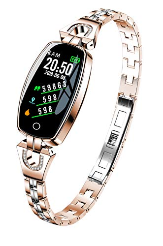 ELYSYSRL Smart Pols Band Fitness activiteit tracker waterdichte Stappentellers Hartslag Monitoren Vrouwen sieraden outdoor sport Smart horloge