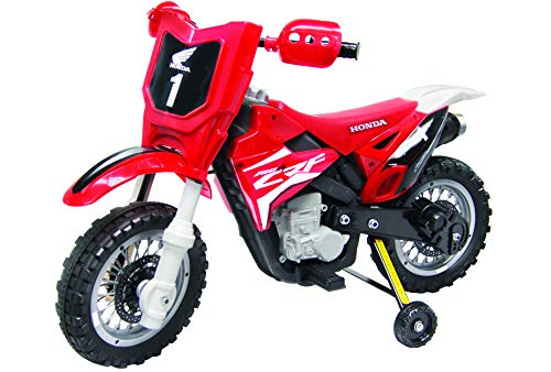 Best Ride On Cars 185 Honda CRF250R Dirt Bike, 6V, Red