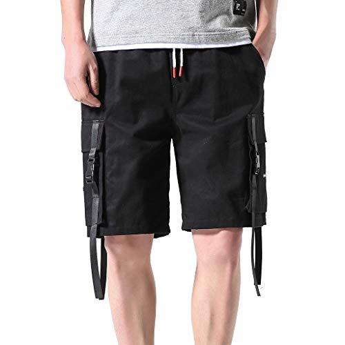 Zarupeng heren Baggy Cargo Shorts vrijetijdsbroek in de vrije natuur werkbroek strand shorts lopen training sportshorts bermuda korte broek