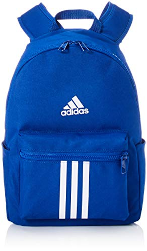 adidas Kids 3 Stripes LK Rucksack blue white