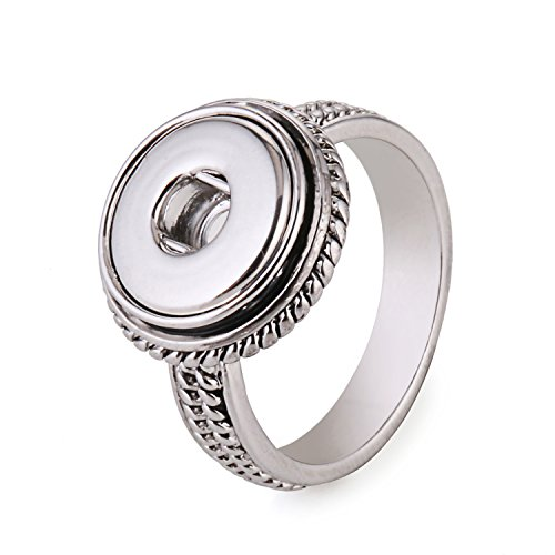 Morella® Damen SMALL Click-Button Ring - 57 (18.1)
