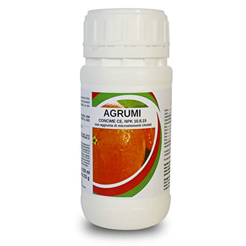 bio A.L.T. Concime Liquido Specifico Fertilizzante con Azoto Fosforo Potassio per Agrumi Arance Limoni Migliora la Crescita di Colture in Giardino per Piante in Appartamento Esterno in Vaso (250 ML)