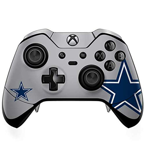 Skinit Decal Gaming Skin Compatible with Xbox One Elite Controller - Officially Licensed NFL Dallas Cowboys Retro Logo Design