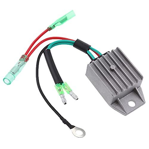 Janedream Owner Rectificador regulador de Voltaje Externo de Alta Resistencia Yamaha de 2 Tiempos 40HP (Color : China)