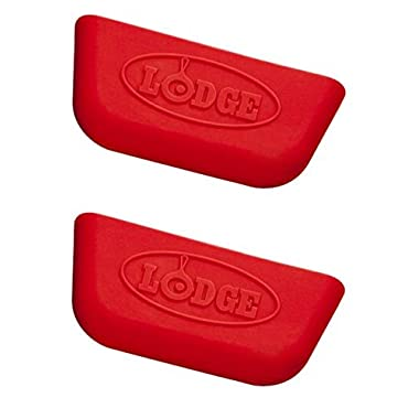 Lodge ASPHH41 Silicone Pro-Logic Handle Holder, 2 Count, Red