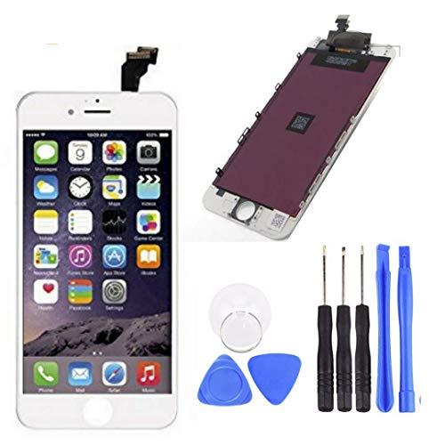 Dr. Celular Remplazo para Pantalla LCD Digitalizador Touch para iOS 6 Color Blanco