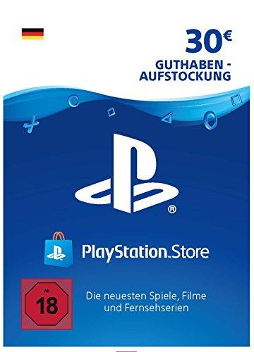 PSN Guthaben-Aufstockung | 30 EUR | deutsches Konto | PS5/PS4/PS3 Download Code