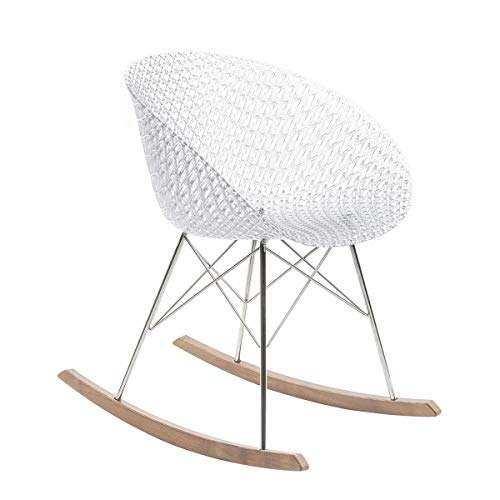 Kartell Matrix Rocking Chair crystal