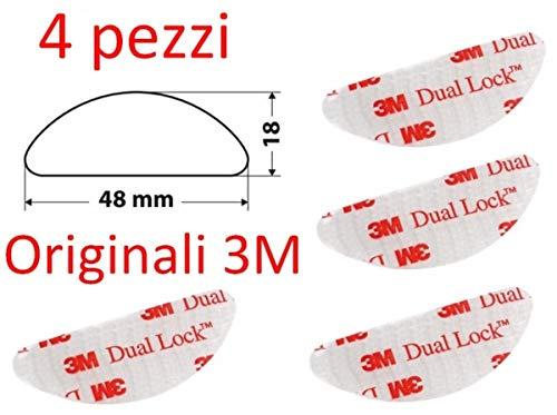 3M Dual Lock Sistema di Fissaggio Richiudibile, 4 Pezzi