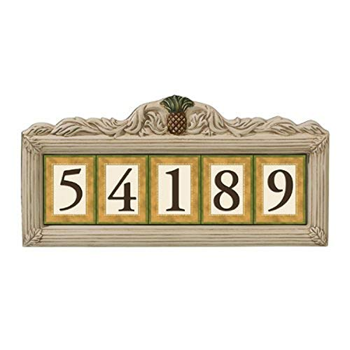 magnetic ceramic house numbers - 1