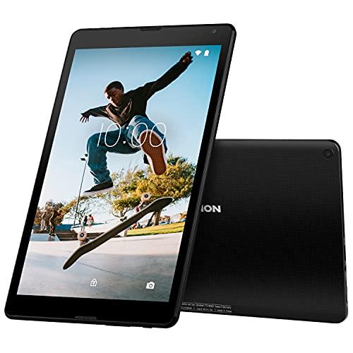 MEDION E10420 25,7 cm (10,1 Zoll) HD Tablet mit IPS Bildschirm (Android 10, Quad Core Prozessor, USB Typ C, 2GB RAM, 32GB Speicher, WLAN, Bluetooth, 2MP Kamera) schwarz