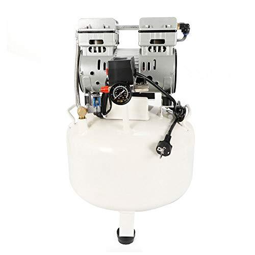 Compresor de aire 850 W, 35 L, sin aceite, compresor de aire, bajo ruido