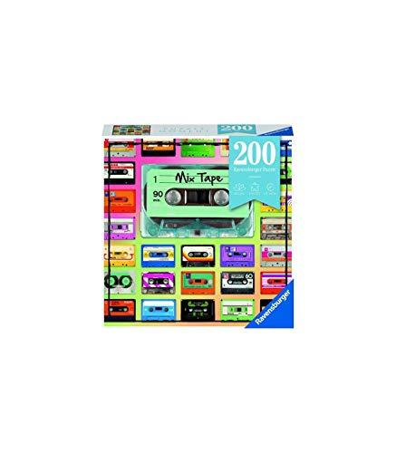 Ravensburger Puzzle 12962 Mix Tape - 200 Teile Puzzle für Erwachsene und Kinder ab 14 Jahren