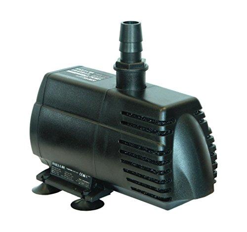 Hailea HX-8890 Pompe à pédale in-Out, 8000 l/h, Hauteur de refoulement Max. 5 m, Noir, 27 x 16 x 18 cm, 10-450-465