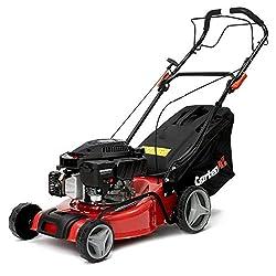 GartenXL 16R-127-M3 Benzin Rasenmäher Selbstantrieb Motormäher 40cm Benzinmäher mit Radantrieb für Mähen Sammeln Mulchen Inkl Q-clean Reinigungssystem