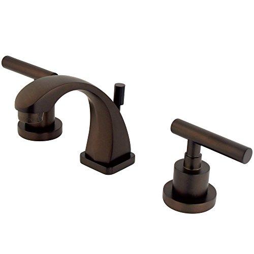 Elementos de diseño es4945cml Sydney mini-widespread baño grifo, 3–7/8', bronce aceitado
