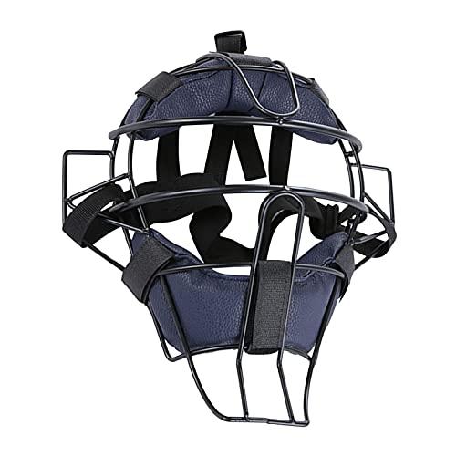 Casco para Catchers De Béisbol, Fundas Faciales Protectoras De Béisbol con Hebillas Ajustables Duradera Resistente Y Segura para Adultos Y Jóvenes