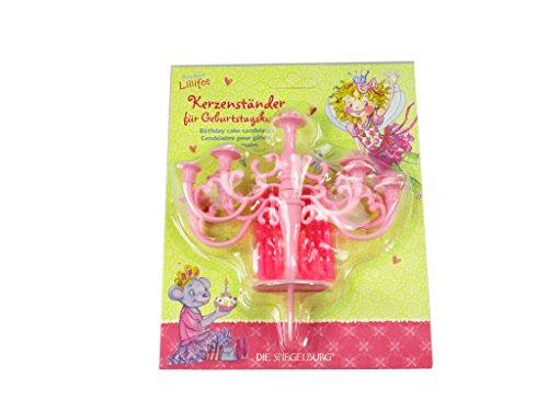 Kerzenständer für Geburtstagskuchen Prinzessin Lillifee