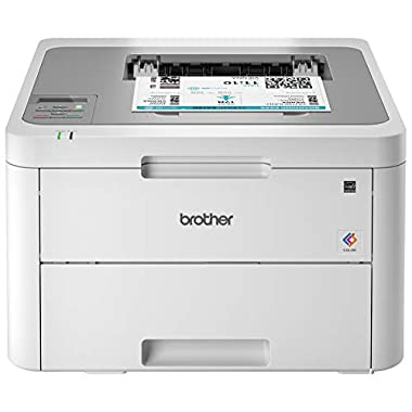 Brother HL-L3210CW Compact Digital Color Printer Providing Laser Printer Quality Results with Wireless