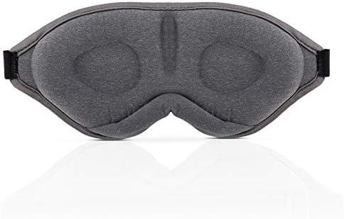 Sleep Mask for Men Women Upgraded Version of Adjustable 3D Contour Eye Mask 100 Blocking Light product image