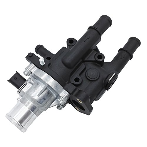 Engine Coolant Thermostat Housing for 2009-2011 Chevy Aveo Aveo5 09 Pontiac G3 G3 Wave 1.6L 96984102 25189437 15-81766