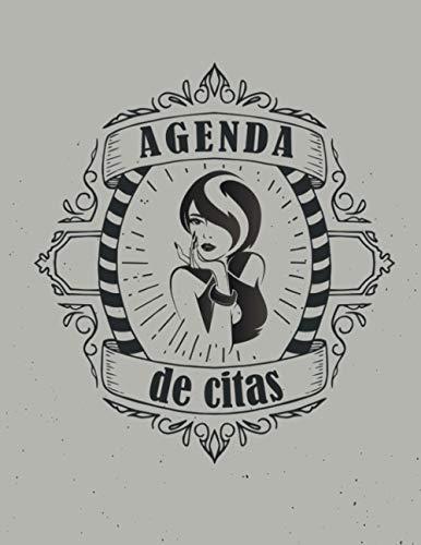 Agenda de citas: Agenda de citas para peluqueros y peluqueras | Ideal para Peluquería, Salon de Belleza, Estética o Spa Planificador Semanal Sin Fecha ... 30 minutos de 6:30 a 21 horas | Formato A4