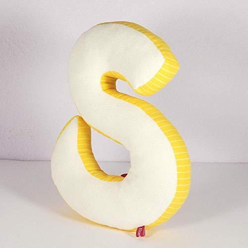 Buchstabenkissen Kissenbuchstabe Dekoration Buchstabensalat