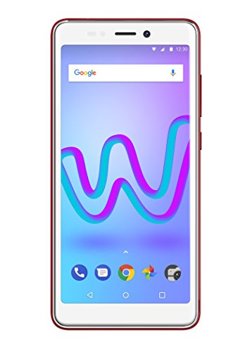 Wiko Jerry 3 Smartphone (13,8 cm (5,45 Zoll) Display, 16GB interner Speicher, Android Oreo Go Edition) cherry red