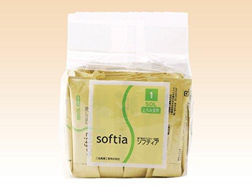 とろみ剤 ソフティア1 SOL とろみ食用スティック 3g×50包