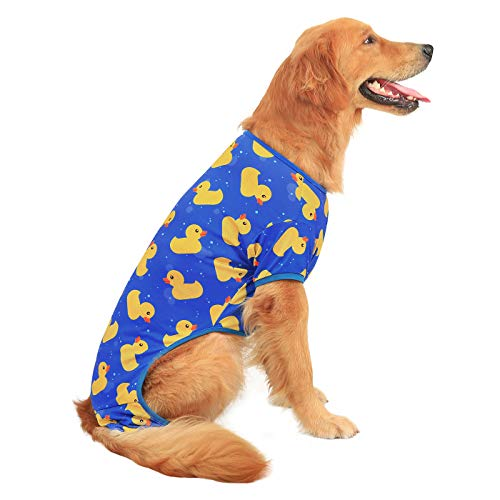 HDE Dog Pajamas Lightweight Dog PJs One Piece Jumpsuit Shirts for Dogs Cute Puppy Clothes for Small...