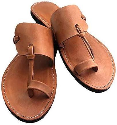 69736b6bd0b6 GlobalHandmade MIDSUMMER men s brown leather sandals